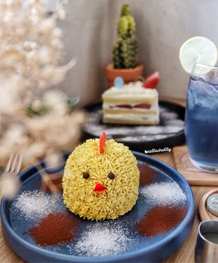 Foto 2 - Makanan(Choco caramel chick) di Vallee Neuf Patisserie oleh Stellachubby