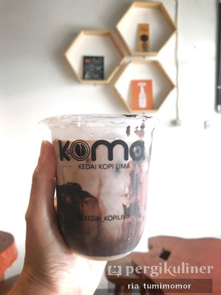 Foto review KOMA - Kedai Kopi Lima oleh riamrt  4