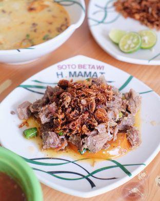 Foto - Makanan di Soto Betawi H. Mamat oleh dk_chang