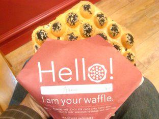 Foto 1 - Makanan(Vanilla Oreo (IDR 26.5k) ) di Eggo Waffle oleh Renodaneswara @caesarinodswr