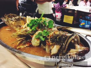 Foto 2 - Makanan(Kerapu lumpur saus Thai) di Layar Seafood oleh @supeririy