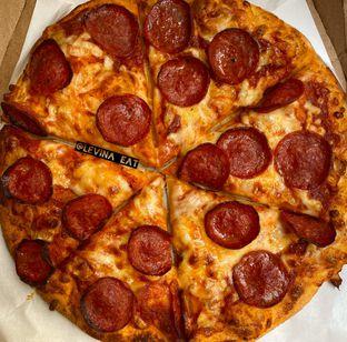 Foto review Domino's Pizza oleh Levina JV (IG : levina_eat ) 1