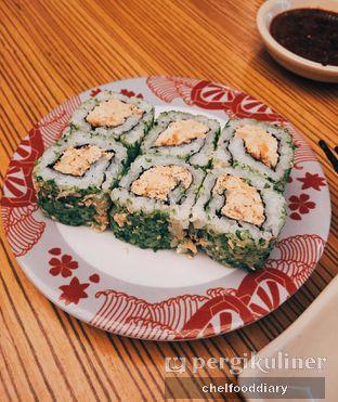 Foto 3 - Makanan(Baked Salmon Maki) di Sushi Tei oleh Rachel Tobing