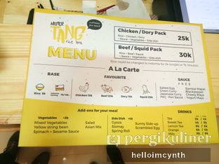 Foto 1 - Makanan di Mister Tang oleh cynthia lim