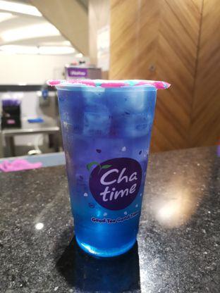 Foto - Makanan(Minty Blue) di Chatime oleh Angela Debrina