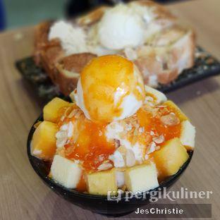 Foto 2 - Makanan(Mango Cheese Snowflake Milk Sherbet) di Aree oleh JC Wen