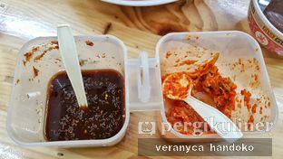 Foto 4 - Makanan(Sambal cuka (kiri), sambal jeruk (kanan)) di Depot Gimbo Babi Asap oleh Veranyca Handoko