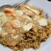 Foto nasi sirem seafood di Kwetiau Akang
