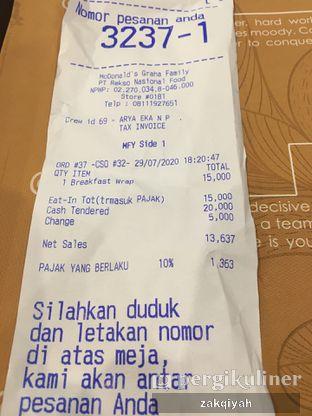Foto review McDonald's oleh Nurul Zakqiyah 3