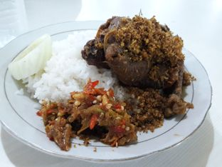 Foto 1 - Makanan di Nasi Bebek Sinjay oleh nitamiranti