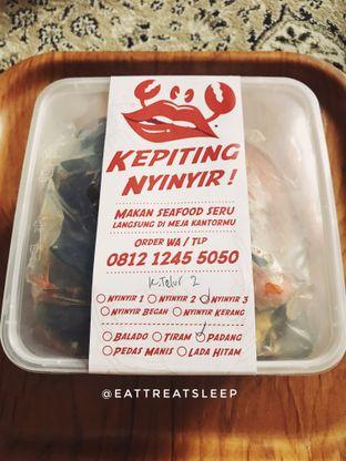 Foto 1 - Makanan(Packaging Delivery) di Kepiting Nyinyir oleh Eattreatsleep