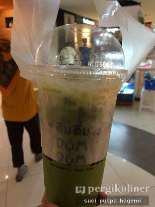 Foto 1 - Makanan(ice thai tea green tea) di Dum Dum Thai Drinks oleh Suci Puspa Hagemi