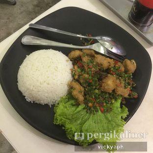 Foto - Makanan(Nasi Ayam Cabe Garam) di Top Noodle House & Kitchen oleh Vicky @vickyaph