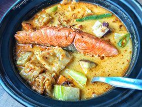 Foto Nasi Lodeh Salmon