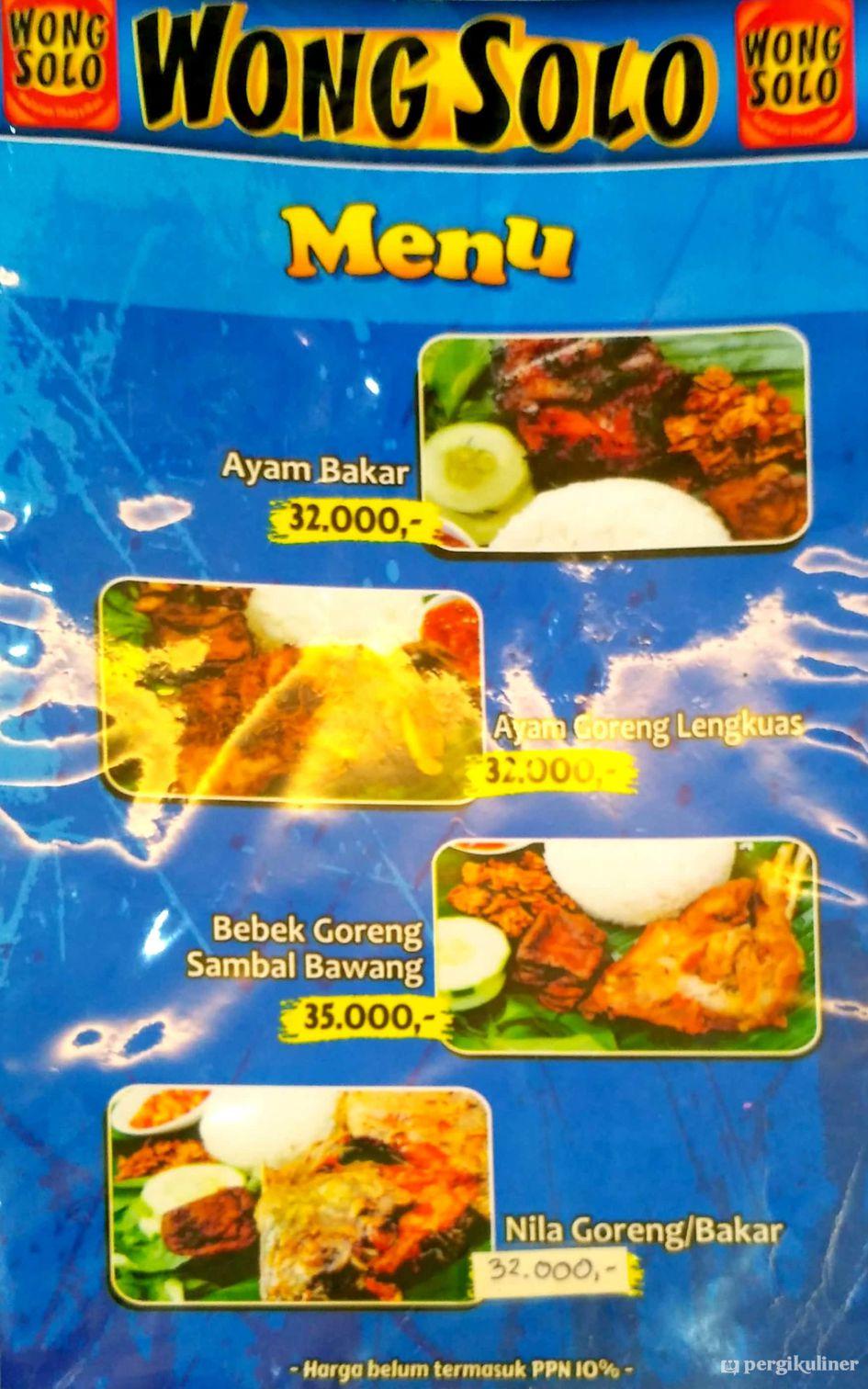 Ayam Ayam Goreng Wong Solo Di Surabaya