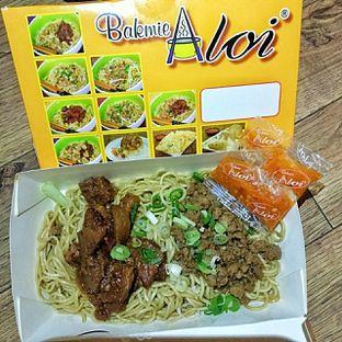 Foto 5 - Makanan(Mie Campur) di Bakmie Aloi oleh duocicip