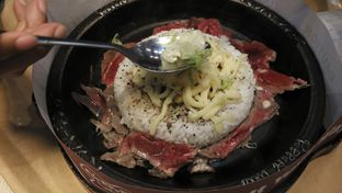 Foto 1 - Makanan(Beef pepper rice) di Pepper Lunch oleh Shabira Alfath