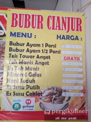 Foto review Bubur Ayam Spesial Khas Cianjur oleh Gregorius Bayu Aji Wibisono 4
