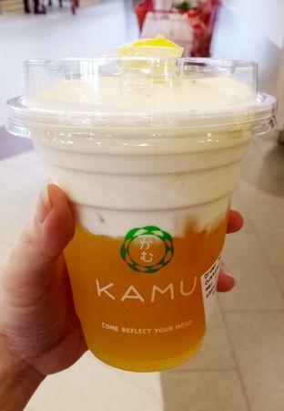 Foto 2 - Makanan(signature cheese tea) di Kamu Tea oleh maysfood journal.blogspot.com Maygreen