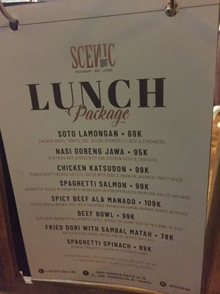 Foto review Scenic 180° (Restaurant, Bar & Lounge) oleh Dyah Ayu Pamela 2