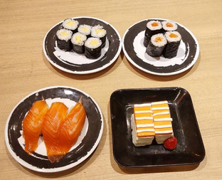 Foto 7 - Makanan di Genki Sushi oleh Devi Renat