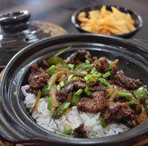Foto Beef Black Pepper Claypot di Waroeng Jangkrik Sego Sambel Wonokromo
