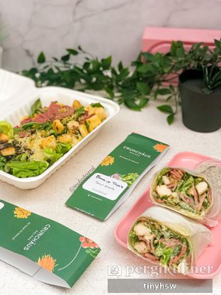 Foto review Crunchaus Salads oleh Tiny HSW. IG : @tinyfoodjournal 4