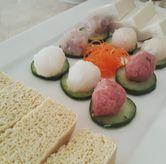 Foto fresh meatballs cold tofu & silk tofu di Dolar Shop