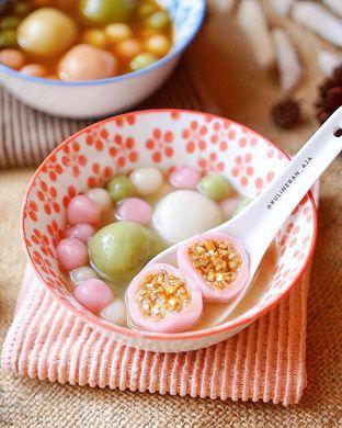 Foto 2 - Makanan(ronde kuah gula putih) di Ronde Jahe Luna oleh @kulineran_aja