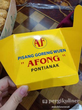 Foto Makanan di Pisang Goreng Afong