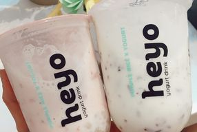 Foto Heyo Rice X Yogurt