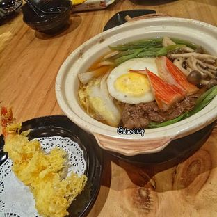 Foto 4 - Makanan(Spicy Nabeyaki Udon) di J Sushi oleh felita [@duocicip]