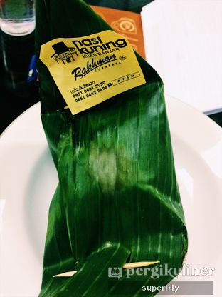 Foto 2 - Makanan(packaging) di Nasi Kuning Khas Banjar oleh @supeririy