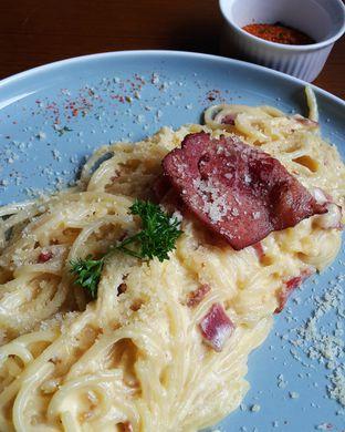 Foto 1 - Makanan(classic spaghetti carbonara) di Canabeans oleh Claudia @claudisfoodjournal