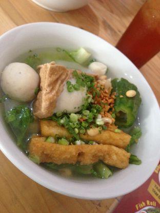 Foto 3 - Makanan di Bakso Ikan Telur Asin Ahan oleh Saya Laper