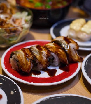 Foto 1 - Makanan di Genki Sushi oleh Wawa | IG : @foodwaw