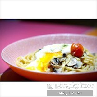 Foto 1 - Makanan(Creamy Miso Linguine) di La Vie Kitchen and Coffee oleh Andy Irawan