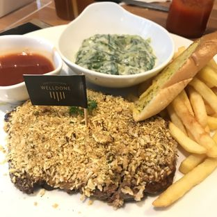 Foto 1 - Makanan di B'Steak Grill & Pancake oleh @fridoo_
