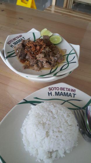 Foto 2 - Makanan di Soto Betawi H. Mamat oleh Chintya huang