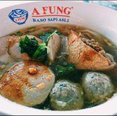 Foto baso kwetiau campur di A Fung Baso Sapi Asli