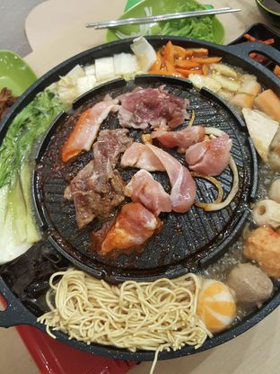Foto 1 - Makanan di Deuseyo Korean BBQ oleh Stallone Tjia (Instagram: @Stallonation)