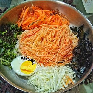 Foto 2 - Makanan(Bibimguksu) di Warung Korea Pop oleh felita [@duocicip]