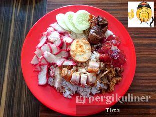 Foto 1 - Makanan di Bakmi dan Bubur Ajung oleh Tirta Lie