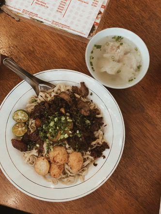 Foto Makanan di Mie Onlok Palembang