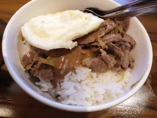 Foto 2 - Makanan(Nasi wagyu saos mushroom) di Warunk UpNormal oleh zelda