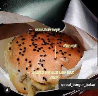 Foto 1 - Makanan di Burger Bakar Qebul oleh Makan Bikin Bahagia