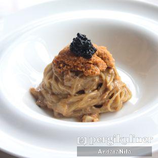 Foto 8 - Makanan(Capellini Con Erizos y Caviar Uni Pasta) di Atico by Javanegra oleh AndaraNila
