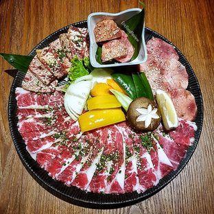 Foto - Makanan(Waki Supreme Platter) di WAKI Japanese BBQ Dining oleh Eric  @ericfoodreview