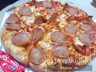 Foto review Domino's Pizza oleh Fransiscus  1