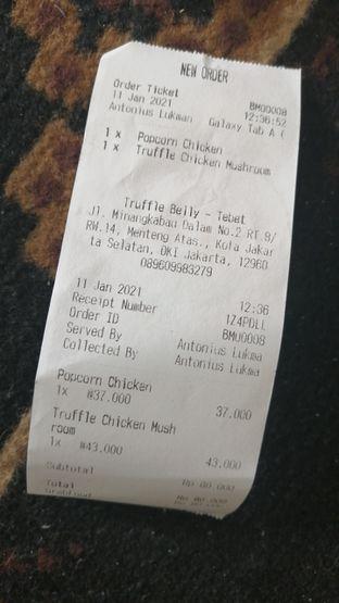 Foto review Truffle Belly oleh ayam goreng 3